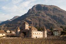 Free Castle Mareccio, Bolzano, Italy Royalty Free Stock Image - 29518706