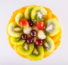 Free Fruits Cake Stock Photography - 29532912