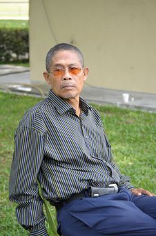 Free Malaysian Senior Citizen Royalty Free Stock Images - 29533729