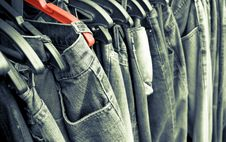 Free Jeans Background. Stock Photography - 29535232