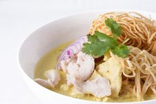 Free Khao Soi , Curry Noodles , Thai Food Royalty Free Stock Photography - 29537137