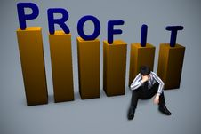 Free Lost In Profit Concept Stock Photography - 29537602