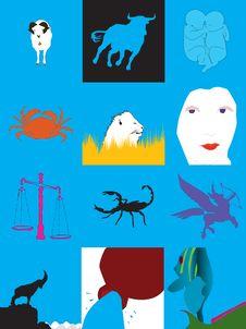 Free Horoscope Stock Images - 29538414