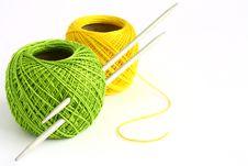 Set For Knitting Stock Images