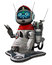 Free Fantasy Toon Robot Stock Images - 29532594