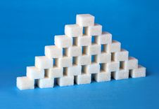 Free Sugar Pyramid Stock Photo - 29540970