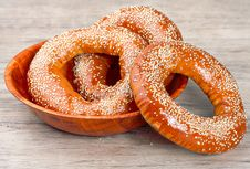 Free Baked Bagels Royalty Free Stock Images - 29541069
