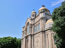 Free Dormition Of The Theotokos Cathedral In Varna, Bulgaria Stock Photography - 29541522