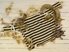 Free Frock With Nautical Objects Royalty Free Stock Images - 29543369