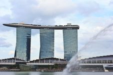 Free Marina Bay Sand4 Stock Photography - 29547972