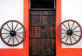 Free Old Spanish Door Royalty Free Stock Photography - 29554407