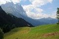 Free Eiger North Face And Kleine Scheidegg Switzerland Royalty Free Stock Photos - 29556368