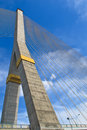 Free The Pole Of Cable Bridge Stock Photos - 29557113