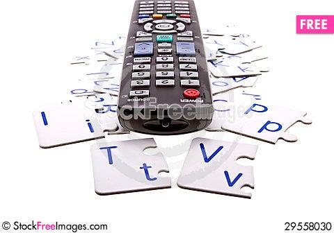 Free Internet TV Stock Photo - 29558030