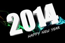 3D 2014 Royalty Free Stock Images