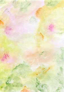 Free Watercolor Hand Painted Background Royalty Free Stock Photo - 29557235