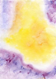 Free Watercolor Hand Painted Background Stock Photos - 29557333