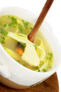 Free Chicken Noodle Soup Stock Image - 29569161