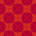 Free Neon Red Pattern With Renaissance Motifs Stock Image - 29569341