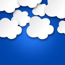 Free White Clouds On Blue Sky Stock Images - 29561714