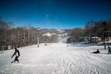 Free At The Ski Resort Royalty Free Stock Photography - 29562337