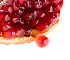 Free Seed Of Pomegranate Fruit Has Dropped Out Of The Group Royalty Free Stock Photo - 29562435