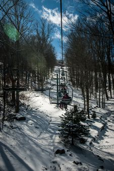 Free At The Ski Resort Stock Photography - 29562502