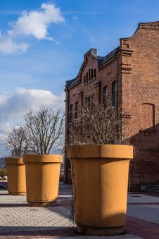 Free Huge Planters Stock Images - 29564504