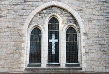 Free Old Church Window Stock Photo - 29564730