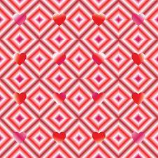 Free Hearts Pattern Royalty Free Stock Photo - 29565505