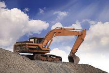 Free Excavator Machine Royalty Free Stock Image - 29566106
