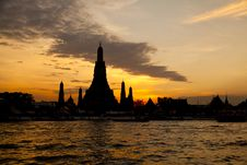 Wat Arun Temple In Bangkok Thailand Royalty Free Stock Images