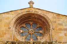 Free Church Window At Soria Royalty Free Stock Photo - 29567015