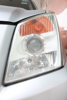 Free Car Headlights. Stock Photography - 29567952