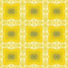Geometric Sixties Wallpaper Design Stock Photos