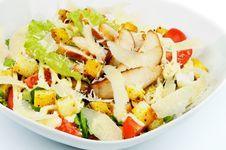 Free Caesar Salad Royalty Free Stock Image - 29569146