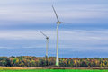 Free Wind Turbine In A Field Stock Images - 29576404
