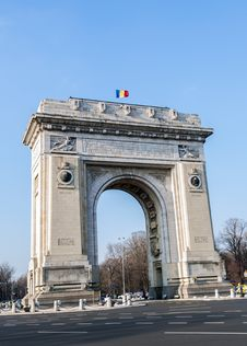 Free Triumph Arch - Landmark In Bucharest Stock Images - 29572474