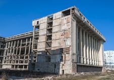 Free Abandonated Building For 25 Years - Bucharest Royalty Free Stock Photography - 29572487