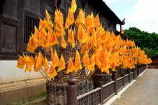 Free Wat Phan Tao,Chiang Mai Royalty Free Stock Photography - 29573267