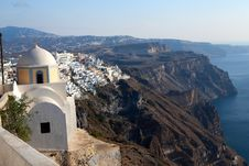 Free Church Of The Island Of Santorini Stock Photos - 29574033