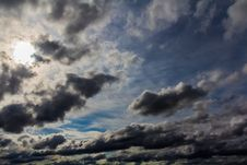 Free Cumulus Clouds Royalty Free Stock Images - 29576559