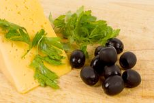 Free Black Olives And Cheese Stock Images - 29577414