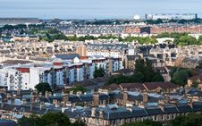 Free Cityscape Of Edinburgh, Scotland Stock Photo - 29577540