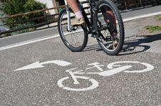 Free Bicycle Lane Stock Photo - 29578120