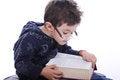 Free Little Boy Reading A Book Stock Photos - 29582553
