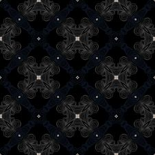 Free Dark Victorian Floor Cerimic Tiled Pattern Royalty Free Stock Image - 29581606