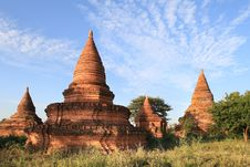 Free Temples Of Bagan, Burma Stock Image - 29582301