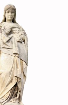 Free Statue Of Virgin Mary Royalty Free Stock Photo - 29582315