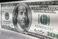 Free Close Up Of Dollar Bill Stock Photo - 29582640